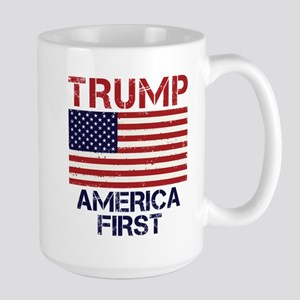 Trump America First Large Mug