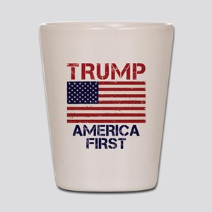 Trump America First Shot Glass