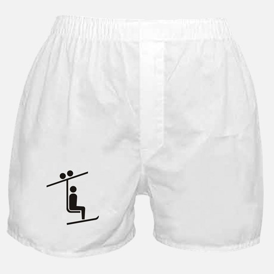 Ski Lift Boxer Shorts