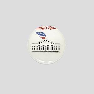 Trump Tee Shirt Daddy's Home! Mini Button