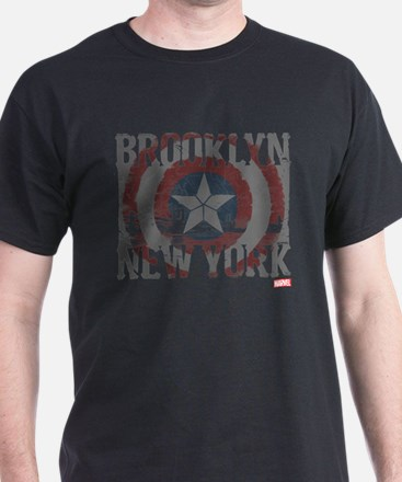 Captain America Brooklyn Distressed T-Shirt