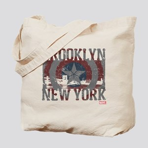 Captain America Brooklyn Distressed Tote Bag