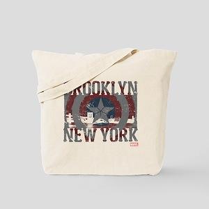 Captain America Brooklyn Distressed Tote Bag
