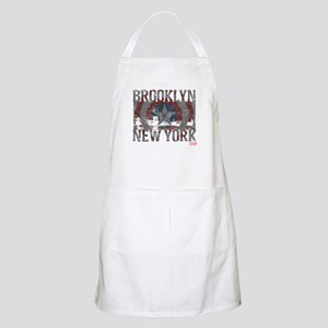 Captain America Brooklyn Distressed Apron