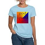 264B.GOD SPEED. . ? Women's Pink T-Shirt