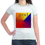 264B.GOD SPEED. . ? Jr. Ringer T-Shirt