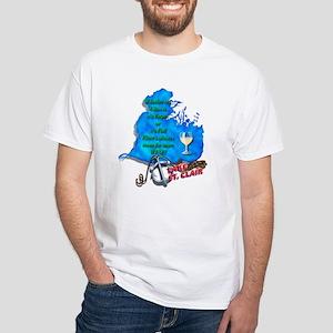 Glass 1/2 Full T-Shirt