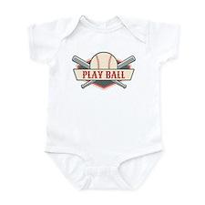 Play Ball Baseball Infant Bodysuit