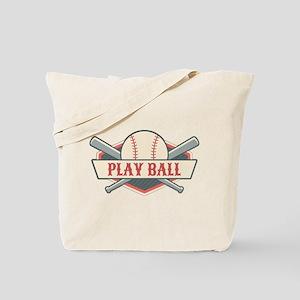 Play Ball Baseball Tote Bag