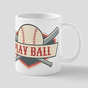 Play Ball Baseball Mug