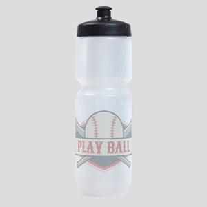 Play Ball Baseball Sports Bottle