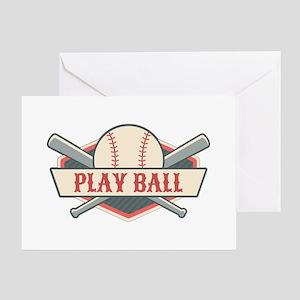 Play Ball Baseball Greeting Card