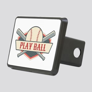Play Ball Baseball Rectangular Hitch Cover