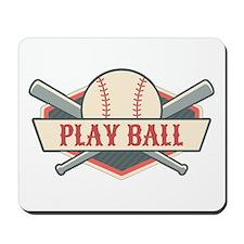 Play Ball Baseball Mousepad