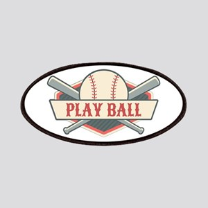 Play Ball Baseball Patch