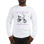 Chopper Bicycle Long Sleeve T-Shirt