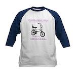 Chopper Bicycle Kids Baseball Jersey