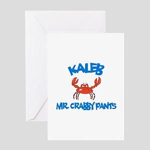 Kaleb - Mr. Crabby Pants Greeting Card