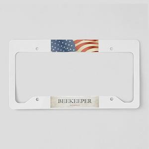 Philadelphia Beekeeper License Plate Holder