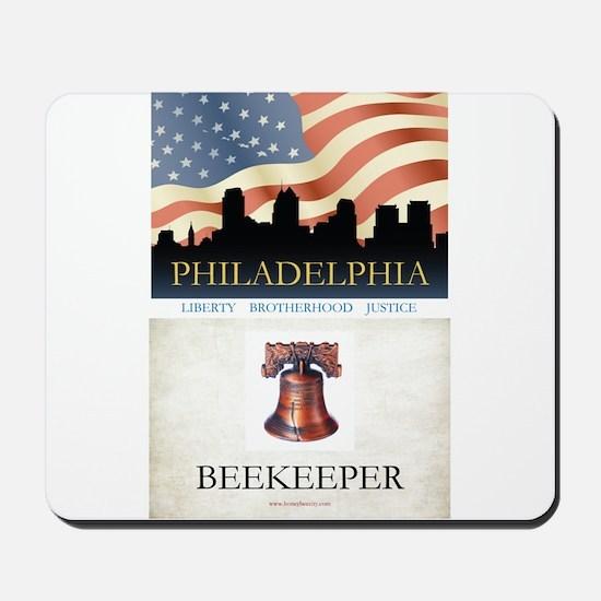 Philadelphia Beekeeper Mousepad