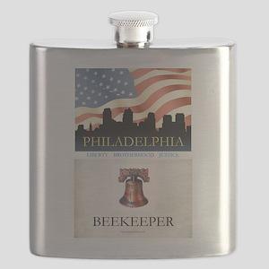 Philadelphia Beekeeper Flask