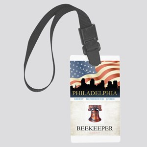 Philadelphia Beekeeper Large Luggage Tag