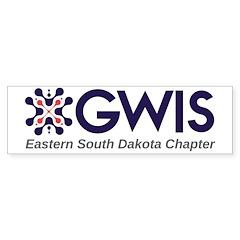 Eastern South Dakota Bumper Bumper Sticker