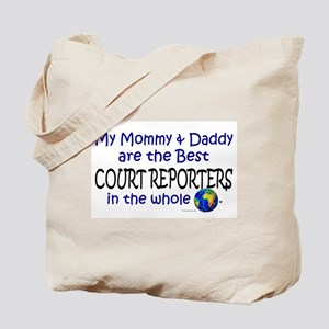 Best Court Reporters In The World Tote Bag