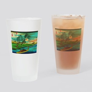 Seba - Ohta River Japan Art Drinking Glass