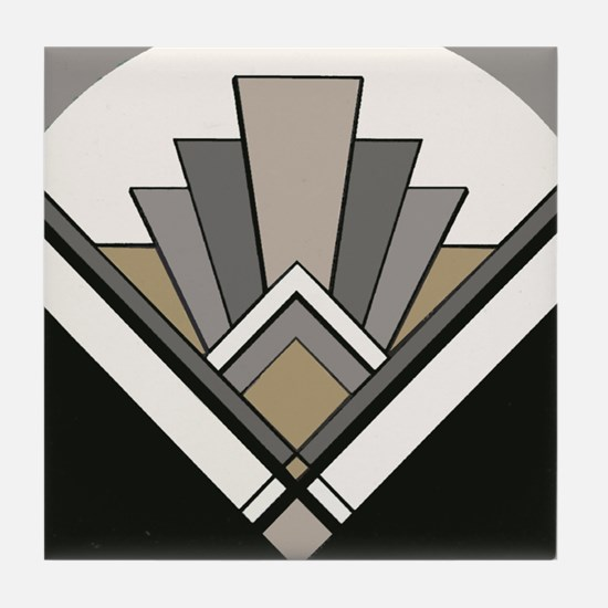 Art Deco Tile Coaster