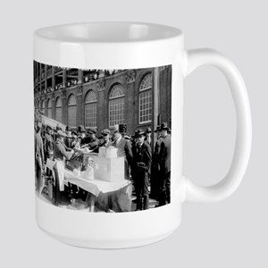Ebbets Field, Brooklyn Dodgers - Vintage Photo Mug