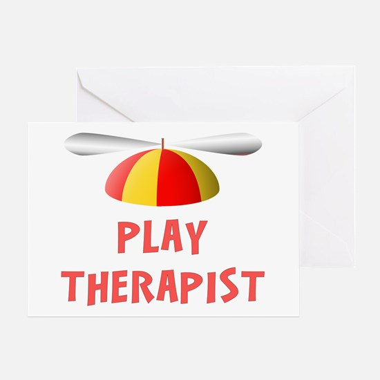 Play Therapist Greeting Card