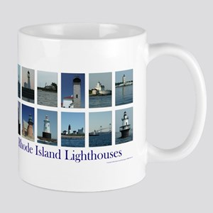 Rhode Island Lighthouses Mugs