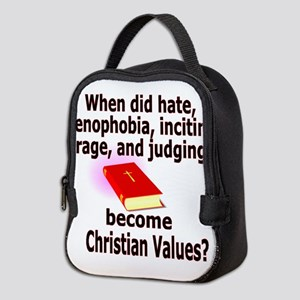 christian4500 Neoprene Lunch Bag