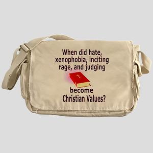 christian4500 Messenger Bag