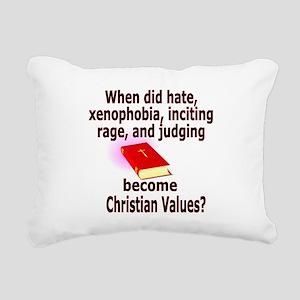 christian4500 Rectangular Canvas Pillow