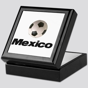 Soccer Football Mexico Keepsake Box