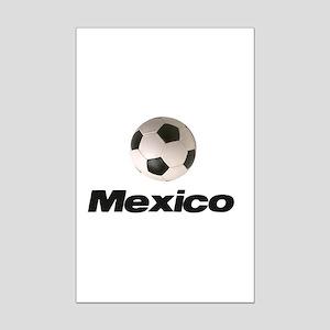 Soccer Football Mexico Mini Poster Print