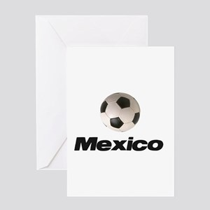 Soccer Football Mexico Greeting Card