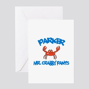 Parker - Mr. Crabby Pants Greeting Card