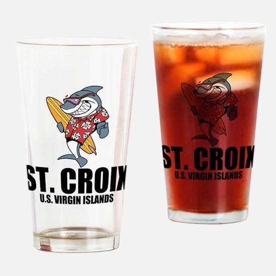 St. Croix, U.S. Virgin Islands Drinking Glass