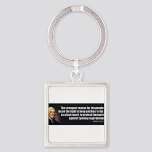 Jefferson_2ndAmendment Keychains