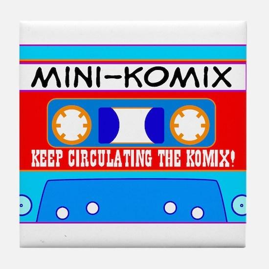 Mini-Komix Mix Tape Tile Coaster
