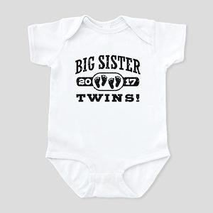 Big Sister Twins 2017 Infant Bodysuit