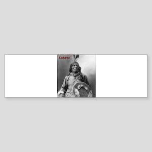 Fool Bull - Lakota Bumper Sticker