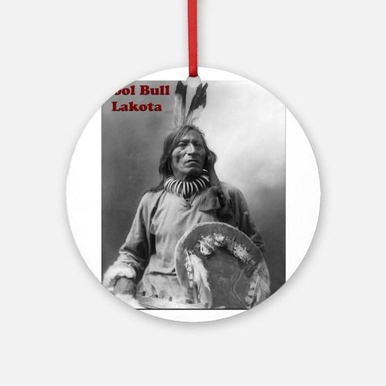 Fool Bull - Lakota Ornament (Round)