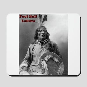 Fool Bull - Lakota Mousepad