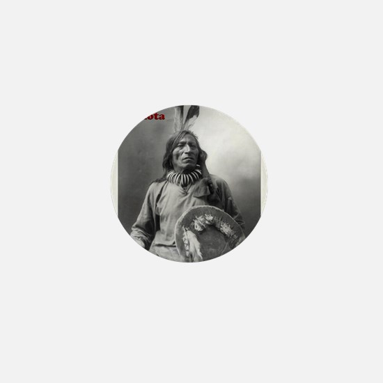 Fool Bull - Lakota Mini Button