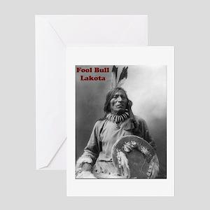 Fool Bull - Lakota Greeting Card