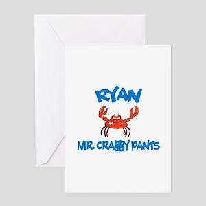 Ryan - Mr. Crabby Pants Greeting Card